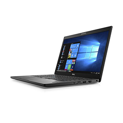 Dell Latitude 7480 14in Notebook, Full-HD Display, Intel Core i5-7300U 2.6GHz Dual-Core, 8GB DDR4, 256GB Solid State Drive, 802.11ac, Bluetooth Backlit Keyboard, Win10Pro (Renewed)