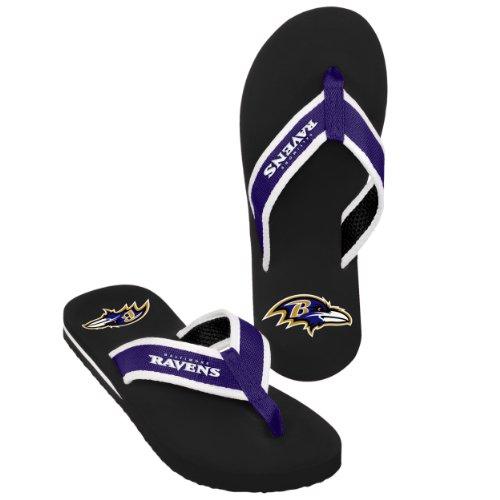 Baltimore Ravens 2013 Mens Contour Flip Flop Extra Large by FOCO