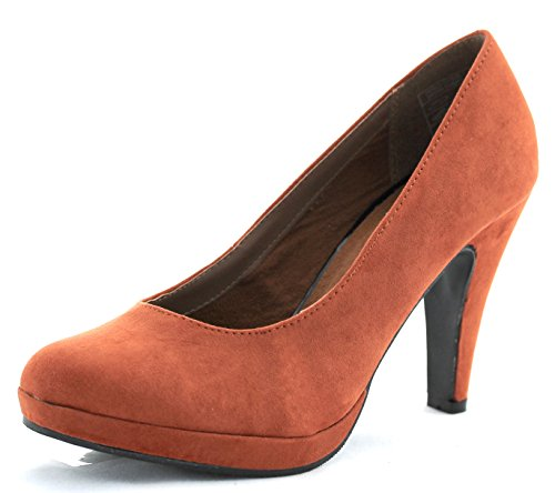 Jane Klain Damen Pumps 224 113 rust