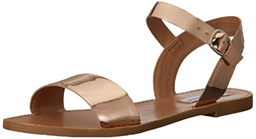 - Steve Madden Women's DONDDI Sandal, Rose Gold, 9.5 M US