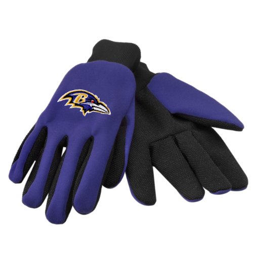 Baltimore Ravens Gloves - Baltimore Ravens 2011 Utility Glove