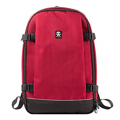 Image of Bags & Cases Crumpler Proper Roady Photo Full Nylon Red Rucksack - Backpack (Nylon, Red, 38.1 cm (15 inches), 300 mm, 150 mm, 460 mm)