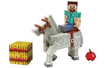 Minecraft Steve Mit Pferd Figuren Amazonde Spielzeug - Minecraft pferde spiele kostenlos