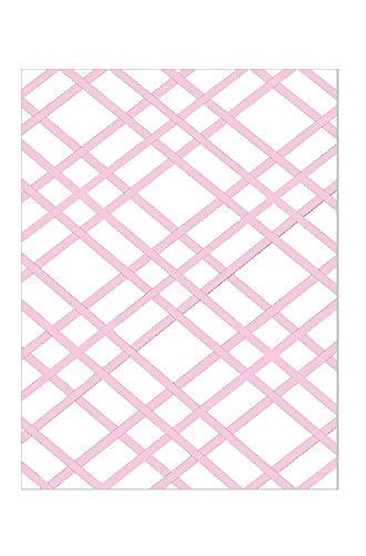 Bulletin-Memo Board; White and Pink (Large (20