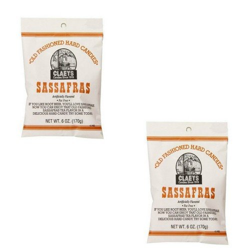 Claeys Old Fashioned Hard Candy Variety Two Pack - Sassafras 2 Pack - 12 Oz Total -