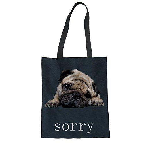 Nopersonality femme Printed 11 Dog pour Cabas SxTwZqSg