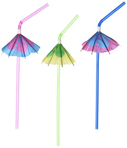 Fun Express Multicolor Tropical Umbrella