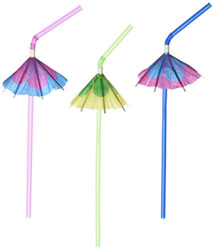 Fun Express Multicolor Tropical Umbrella