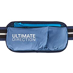 Add the Ultimate Direction Adventure Pocket to any Ultimate Direction Signature Series belt to fine-tune the storage needs of your running belt. This lightweight pouch is perfect when you need to increase your essential storage for a longer r...