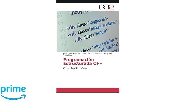 Programación Estructurada C++: Curso Practico C++ (Spanish Edition): Julian Flores Figueroa, Efren Samano Hermosillo, Margarita S. Rodriguez: 9783841751355: ...