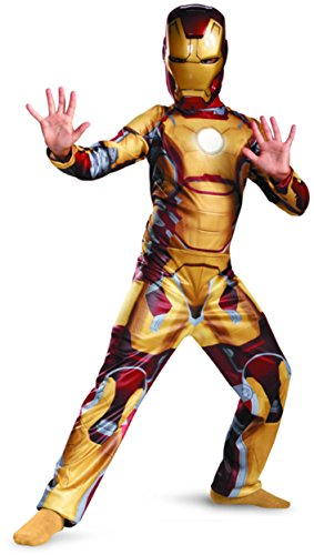 [Marvel Iron Man 3 Mark 42 Boys Classic Costume, 10-12] (Iron Man 3 Costumes Kids)
