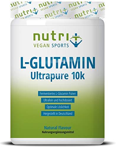 L-GLUTAMIN Pulver 500g Vegan – Neutral & hochdosiert Ultrapure ohne Zusatzstoffe – 99,95% natur rein – Fermentiertes L…
