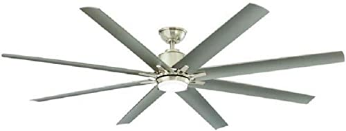 Home Decorators Collection Kensgrove 72 in. Brushed Nickel LED Ceiling Fan
