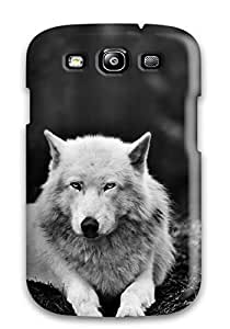 GSlGdRb8817BLMVP Case Cover Wolf In The Forest Galaxy S3 Protective Case