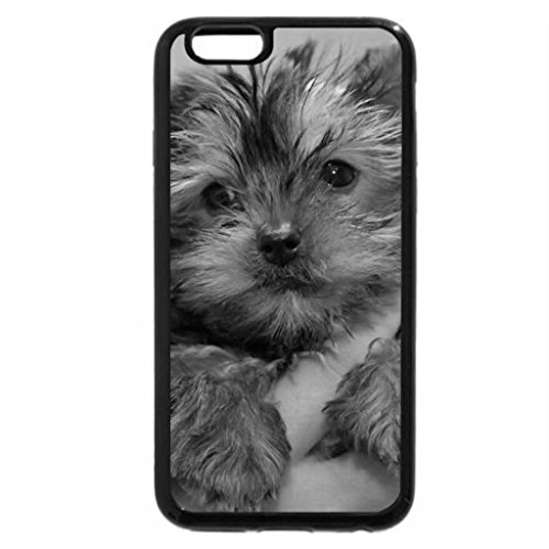 iPhone 6S Case, iPhone 6 Case (Black & White) - AWW SO CUTE