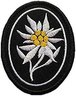 WW2 parche bordado de la división de montaña alemana Elite ...
