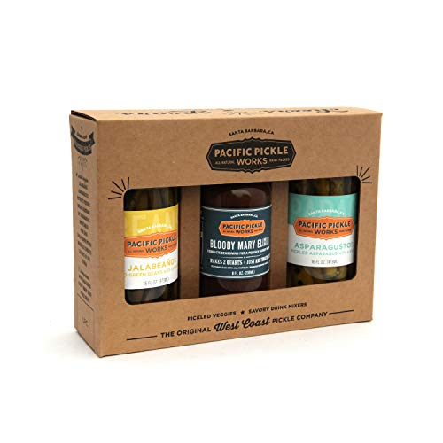 Mighty Bold Bloody Mary Starter Kit (3pc) - Bloody Mary mix with pickled green beans and pickled asparagus