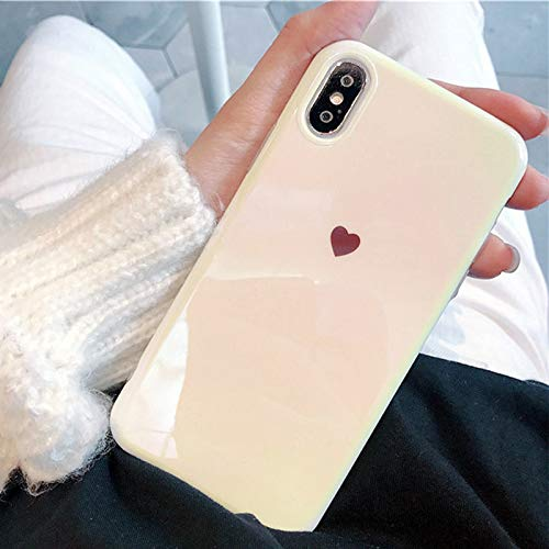 GOOGEE Fitted Cases - Blu-ray Phone Case for iPhone Xr Xs Max X 6 6s 7 8 Plus Fashion Heart Soft Imd Phone Back Cover Cases - for iPhone 6 -