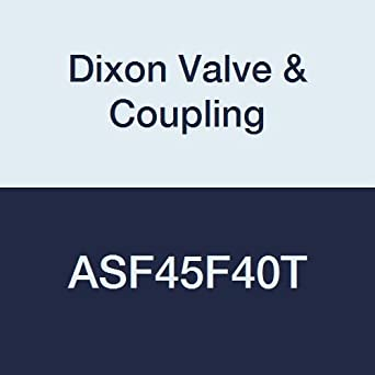 4-1//2 NST Female x 4 NPT Female 4-1//2 NST Female x 4 NPT Female Dixon Valve /& Coupling Dixon Valve ASF45F40T Aluminum Fire Equipment Female Swivel Adapter with Rocker Lug