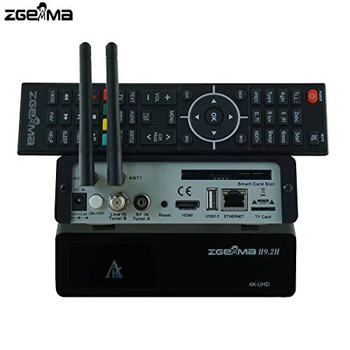 cribbn Zgemma H9S 4K UHD DVB S2X Satellite Receiver - Buy