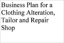Tailoring business plan sample
