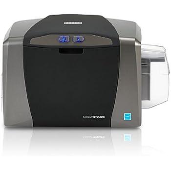 Amazon.com : Fargo DTC1250e Single Sided ID Card Printer ...