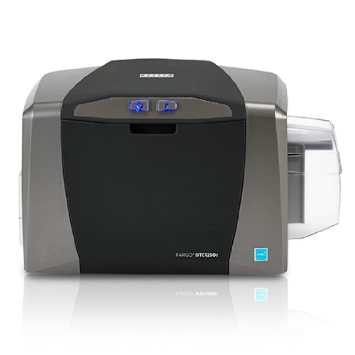 Fargo DTC1250e Single Sided ID Card Printer + Ethernet Connectivity (Badging Software)