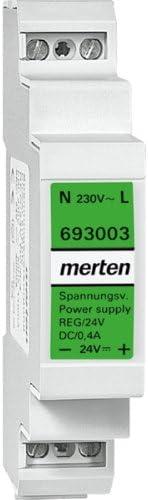 Merten Spannungsversorgung 693003 REG 24VDC 0,4A lichtgrau