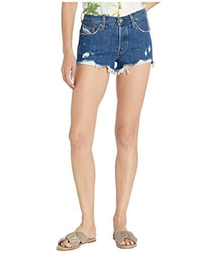 Levi's Women's 501, Sansome Stonewash Short, 32 (US 14) (Shorts Shorts Levi)