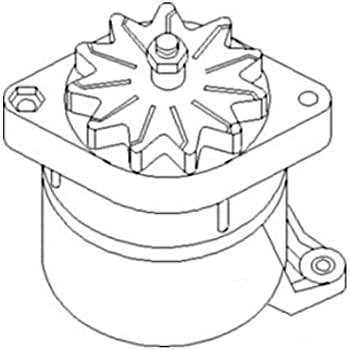 Amazon Com 1987560a1 New Alternator Made For Case Ih Tractor Models