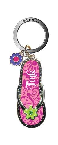 Flip Flop Key Rings (Disney Tinker Bell Pink Flip Flop Key Ring)