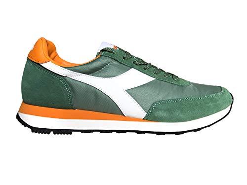 Suede Uomo Heritage 45 EU Verde Koala Diadora Nylon Sneakers t4P7wqw