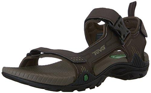 Teva Toachi 2 Herren Braun Sport Sandalen Schuhe Neu EU 45