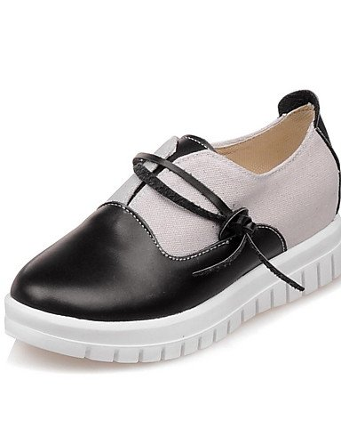 ZQ Zapatos de mujer-Plataforma-Plataforma / Comfort-Mocasines-Exterior-PU-Negro / Azul / Rosa / Blanco , pink-us8 / eu39 / uk6 / cn39 , pink-us8 / eu39 / uk6 / cn39 pink-us8 / eu39 / uk6 / cn39
