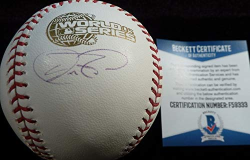 Authentic Beckett Aaron Rowand Autographed Signed-Autographed Signed 2005 World Series Game Baseball 9333