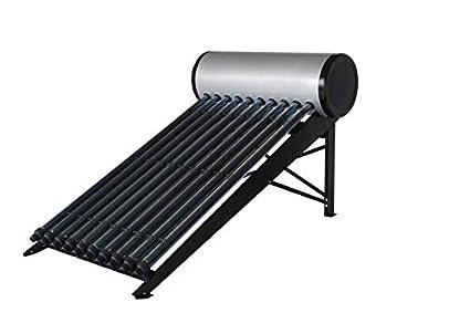 Calentador de agua solar para ACS (termosifón), HEAT PIPE, depósito de 200