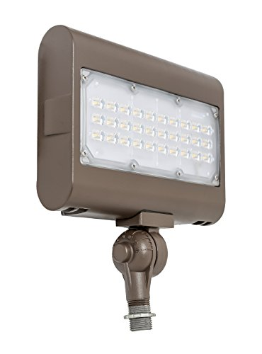 Westgate Lighting LED Flood Light with Knuckle Mount – Best Security Floodlight Fixture for Outdoor, Yard, Landscape, Garden Lights – Safety Floodlights - UL Listed (50 Watt, 3000K Warm White)