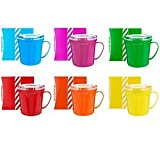 Sistema Set of 6 Assorted Microwave Mugs w/Gift Boxes