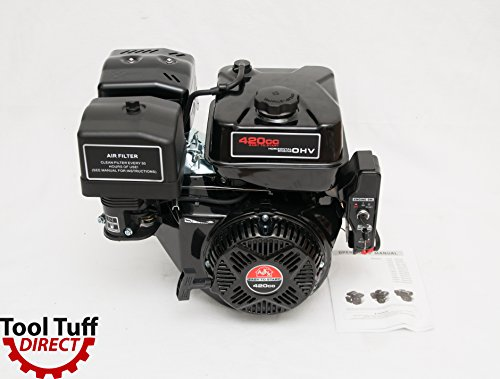 NEW! Tool Tuff 420cc 15 hp Gas Engine - Elecrtric Start, 6-Month Warranty, Reliable by Tool Tuff