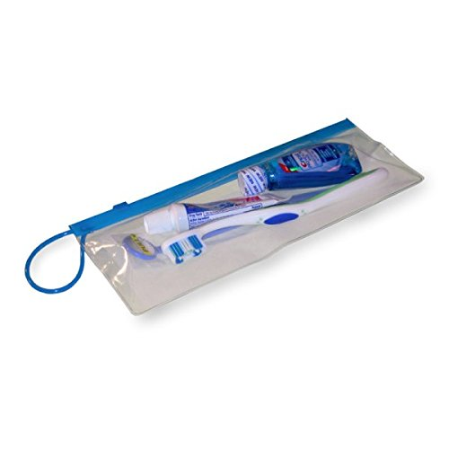 Starryshine 288 PC Dental Carrying Case (Zip Lock Patient Pack 4''x10'') Assorted Color for Patients Toothbrush Case | Dental Zipper Pouch, Hygiene Products | Patient Giveaway Bags