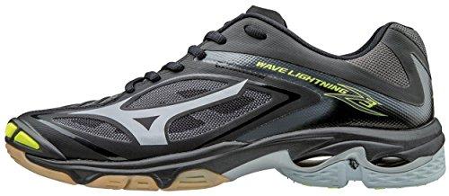 Mizuno Men's Wave Lightning Z3 Volleyball Shoe, Black/Silver, 17 D US by Mizuno