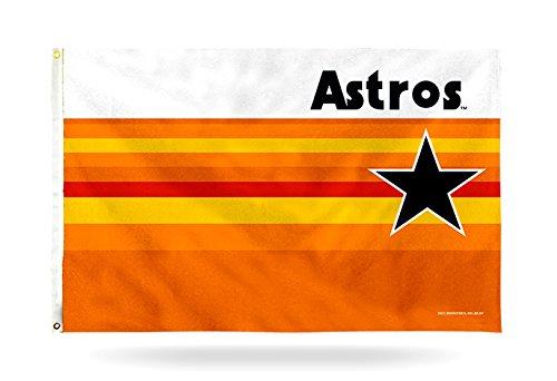 Rico Houston Astros Retro Design 3x5 Flag Grommets Outdoor House Banner Baseball