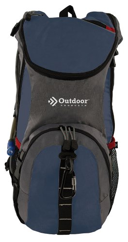 Outdoor Products Ripcord Hydration Pack, Blue Overalls, Outdoor Stuffs
