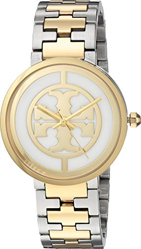 Tory Burch Women's Reva - TBW4027 Two-Tone Silver/Gold One Size