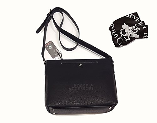 Borsa donna tracolla Beverly Hills POLO Club nero bh 672