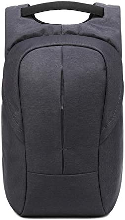 Color : Black, Size : 16 inch HRWFL Business Anti-Theft Laptop Shoulder Bag Casual Waterproof Oxford Cloth Student Bag USB Rechargeable Backpack