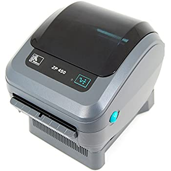 Zebra Zp 450 Thermal Label Printer USB/Serial for U-P-S Worldship Labels Only