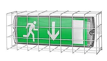 Schutzgitter Schutzgitter Gitter Notleuchte EXIT Notbeleuchtung Lampenschutz Schutz