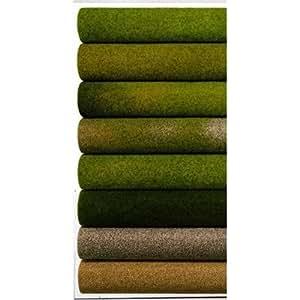 NOCH 00130 - Lámina de vegetación para maquetas (100 x 75 cm ...