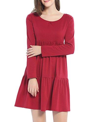 a line babydoll dress - 9